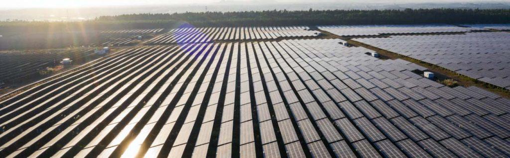 producción de energia renovable