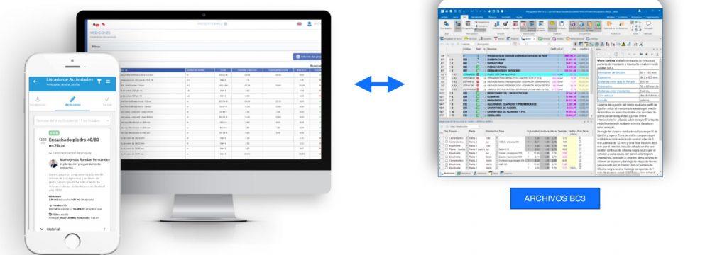 software de planificación para la dirección de obra
